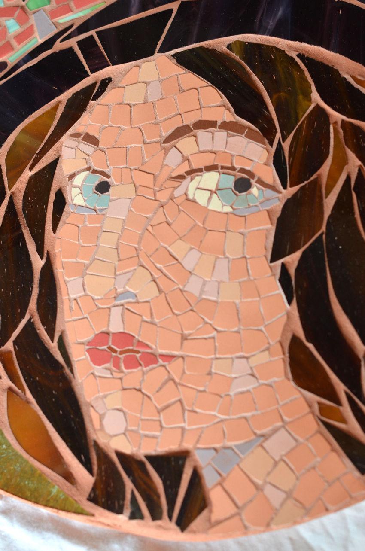 Tableau en mosaïque « muse »