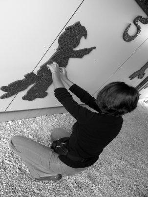 Portrait de Fabienne Candela, artiste mosaïste