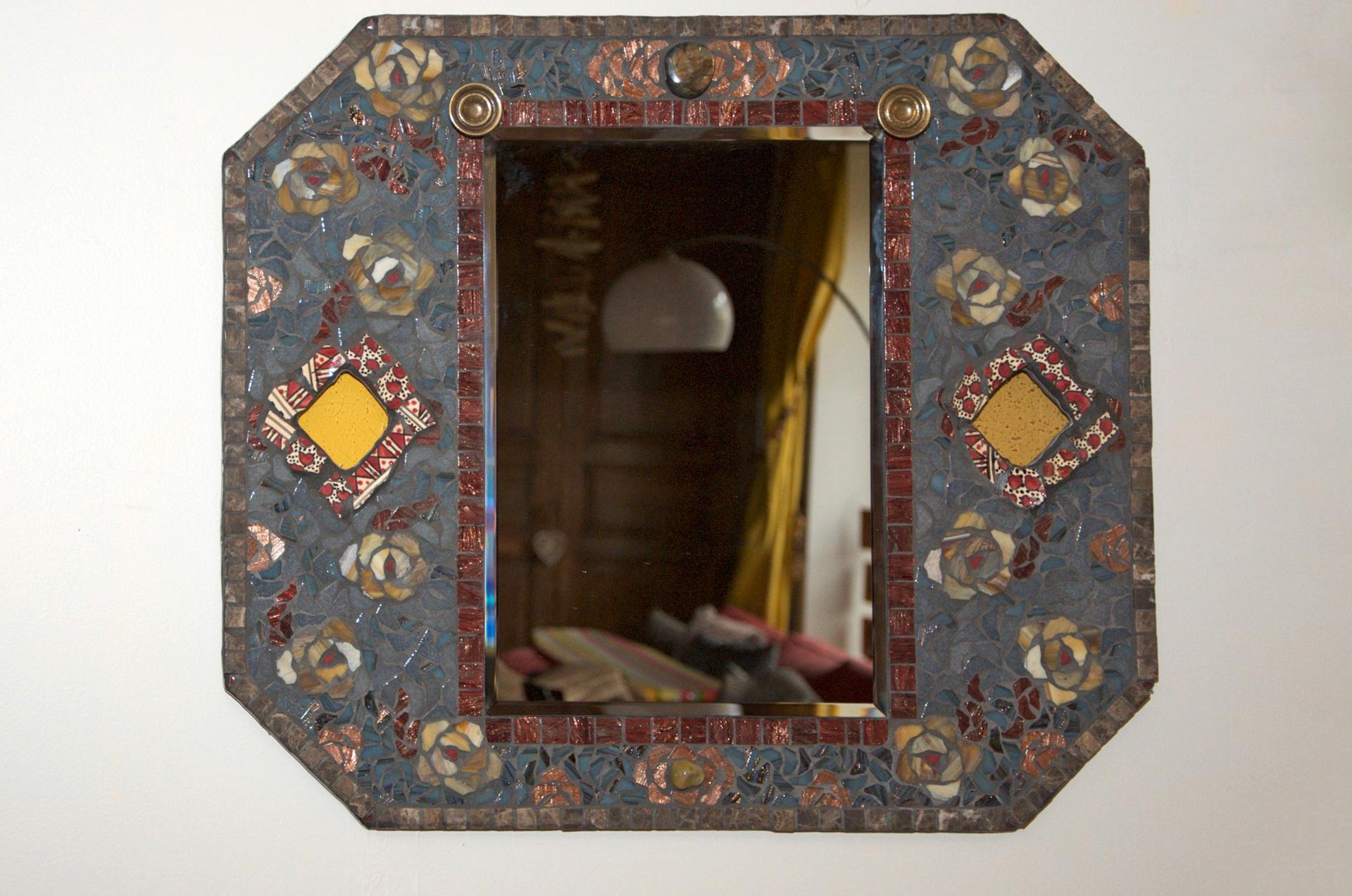 tableau l ancienne il tait une mosa tait une mosa artiste et mosa que. Black Bedroom Furniture Sets. Home Design Ideas