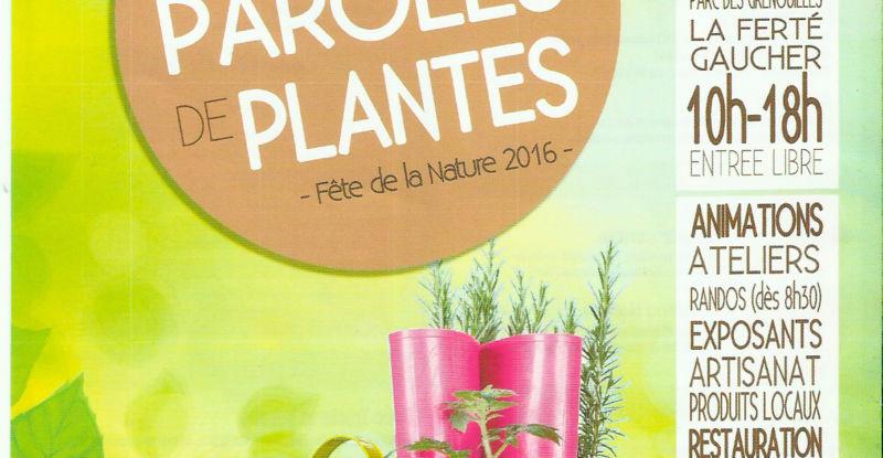 Festival Paroles de Plantes le 22 mai